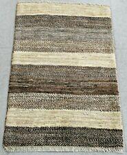 New handmade nomadic woolen rugs . Size:1.96 x 2.95 ft - 90 x 60 cm