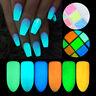 10g Luminous Nail Glitter Powder Pigment Dust Glow in the Dark Nail Art Decor