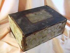 Antique Civil War Era Chase & Co Creamellow Lozenges Wooden Box