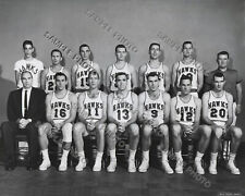 1957-58 ST. LOUIS HAWKS NBA CHAMPIONS 8X10 TEAM PHOTO