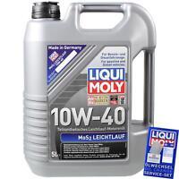 Original Liqui Moly 1092 1x5 Liter MoS2 Leichtlauföl Motoröl 10W-40
