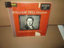 WILLIAM TELL OVERTURE - ROSSINI - EDUARD VAN BEINUM AMSTERDAM rare Vinyl LP mono
