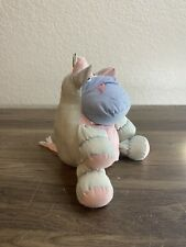 Applause Pufflet Steer Item 19308 Parachute Style Hippo Plush Washed Puffa Fakie