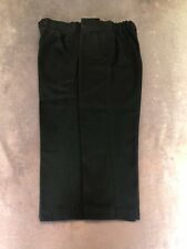 Boys Black School Trousers X2 - Size 8 Years