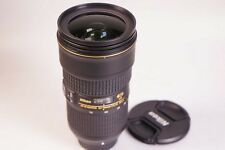 Nikon AF S 24-70 mm f/2.8 VR ED Nano Objectivement