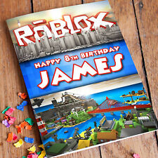 ROBLOX Personalised Birthday Card   FAST Shipping ✔ Premium quality✔