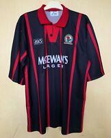 FC BLACKBURN ROVERS 19941995 AWAY FOOTBALL JERSEY CAMISETA SOCCER SHIRT VINTAGE