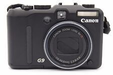 Canon PowerShot G9 12.1MP 3''SCREEN 6x Digital Camera (BATTERY NOT INCLUDED)