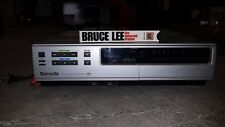 Genuine Panasonic PV-1220-K VCR & Bruce Lee The Immortal Dragon Video & Cables