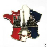 Eiffel Tower Paris Tourist Travel Souvenir 3D Metal Fridge Magnet Gift