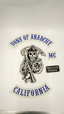 Sons Of Anarchy Vest  Jacket Cut Back Patches Motorcycle Biker Club quality nice
