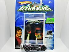 HOT WHEELS ACCELERACERS SPINE BUSTER CAR METAL MANIACS NEW IN 2004 PACKAGE