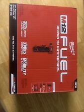 Milwaukee 2485-22 M12 FUEL Li-Ion Right Angle Die Grinder Kit (2 Ah) New
