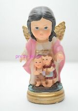 12 Guardian Angel Statue Figurine Angel De La Guarda Guardia Catholic Religious