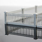 1 Meter HO OO Scale 1:87 White Building Wall Architectural Model Fence LG10001