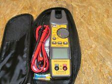 Ideal 200A AC TRMS Split Jaw Meter w/Flashlight & NCVT 61-405 ( LOT CCE)
