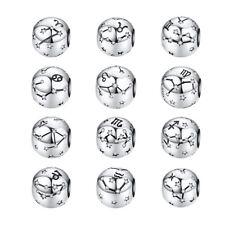 Bamoer S925 plata esterlina encanto grano constelación & Circonia Cúbica Ajuste Pulsera Europea