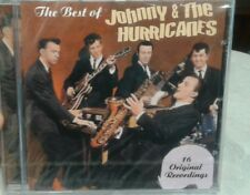 JOHNNY & the HURRICANES rare THE BEST OF CD SEALED German Import 16 tracks 1999