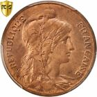 [#96344] France, Dupuis, 5 Centimes, 1900, Paris, PCGS, MS64RB, Bronze, KM:842