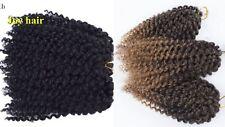 Curly Wand Hair Crochet | Baguette Magique Bouclée Cheveux de 3 Pièces mali bob