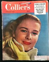 COLLIERS MAGAZINE - Feb 1949 - RED COMMUNIST HYSTERIA / Insurance Racketeer