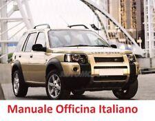 LAND ROVER FREELANDER Prima Serie 1° Mk1 (1996/2006) Manuale Officina Italiano