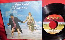 ADRIANO CELENTANO Soli/Io e te 7' + PS 1979 ITALY MINT-