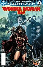 WONDER WOMAN DAY SPECIAL 1 PROMO VARIANT 2017
