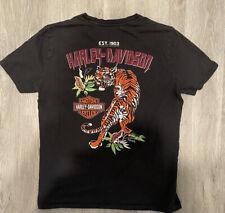 New ListingVintage Harley Davison T Shirt Size Medium - Tiger Logo