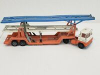 Corgi Major Toys Scammell Carrimore Trideck Transporter Orange, White, & Blue