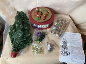 1996 Avon Christmas Is Coming Musical Advent Rotating Tree