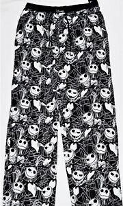 Disney The Nightmare Before Christmas Pajama Pants Sleep Lounge PJS L Large Gift