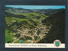 AK aus Weiten mit Ruine Mollenburg, Niederösterreich, Alpine Luftbild   (E20)