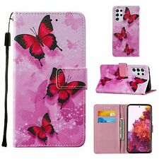 Samsung Galaxy S21 Ultra Hülle Case Handy Cover Schutz Tasche Schutzhülle Pink