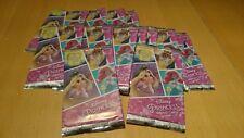 90 CARDS (18 pochettes) Disney Princess/La belle et la bête TOPPS