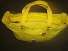 POLO RALPH LAUREN YELLOW CANVAS BAG