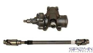 Borgeson 800123 Steering Box & 000951 Shaft Kit   2003-08 Dodge Ram 2500 & 3500