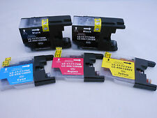 LC79 Black CMY Ink Cartridge for Brother MFC-J6910DW J6710DW J6510DW J5910DW 5PK