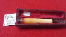 FUME CIGARETTE PORTE CIGARETTE - ANCIEN VINTAGE AMBRE -  REF11692