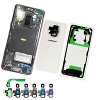 Clear Transparent Back Glass Replacement for Samsung Galaxy S9/S9 Plus