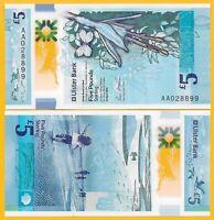 Northern Ireland 5 Pounds p-new 2018(2019) Ulster Bank (Prefix AA) UNC Banknote