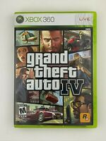 Grand Theft Auto IV - Xbox 360 Game - Complete w/ Map & Tested