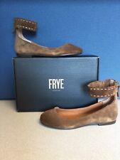 Frye Women's Carson Ankle Ballet Flats Brown 7 M