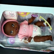 Hasbro Baby Alive Wets & Wiggles African American Doll
