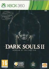 Xbox 360 Dark Souls 2 Scholar of the First Sin Edition BRAND NEW