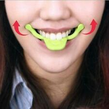 Portable Facial Muscle Mouth Toning Exercise Slim Face Smile Cheek Tool YW