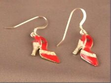 Red High Heals Bead Earrings ER21