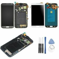 LCD Screen Touch Digitizer Replacement + Frame For Samsung Galaxy Note 2 N7100