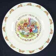 "Royal Doulton England Happy Birthday from Bunnykins Plate 8"" Fine Bone China,"