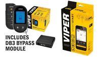 Viper 5706V Car Remote Start & Alarm + DB3 Bypass LCD Remote + SmartStart VSM550